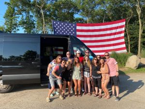 long island wine tour party bus