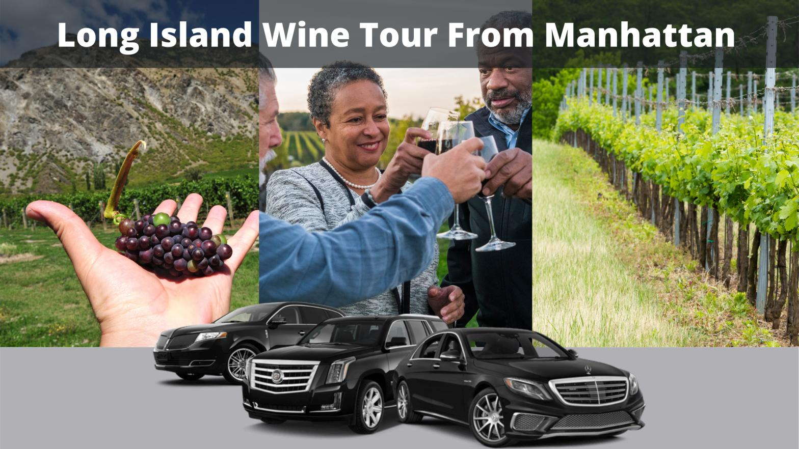 How do you get to Long Island wineries from Manhattan?